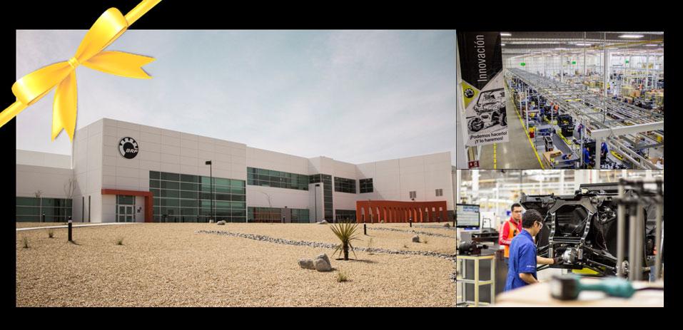 BRP відкриває свій третій виробничий об'єкт у Мексиці!