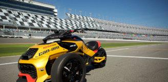 Марка Can-Am офіційно презентує ексклюзивну концептуальну модель SpyderF3 Turbo гоночного типу на міжнародному автодромі «Daytona International Speedway»