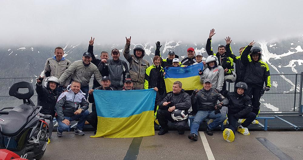 «Покорение горы Гроссглокнер 2016» – 300 водителей Can-Am Spyder со всей Европы! Среди них 30 райдеров из Украины!
