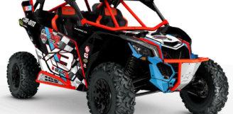 BRP представляет мотовездеход гоночного типа Can-Am Maveriсk X3 на международной гоночной трассе «Phoenix International Raceway»