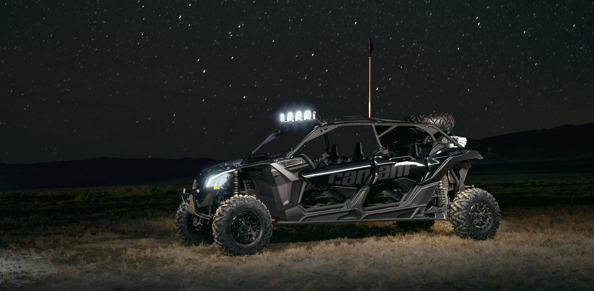 НОВИНКА ОТ CAN-AM — MAVERICK X3 MAX X DS TURBO R