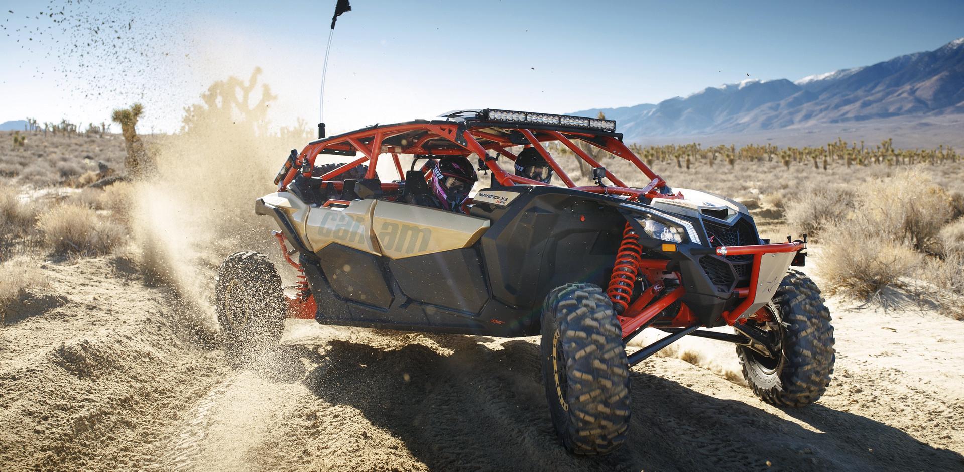 ЧЕТЫРЕХМЕСТНЫЙ СПОРТИВНЫЙ МОНСТР – MAVERICK X3 MAX X-RS – уже на нашем сайте!