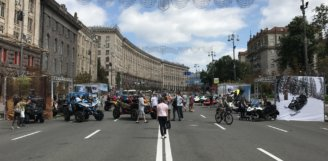 Мототехніка BRP в День Канади в Києві