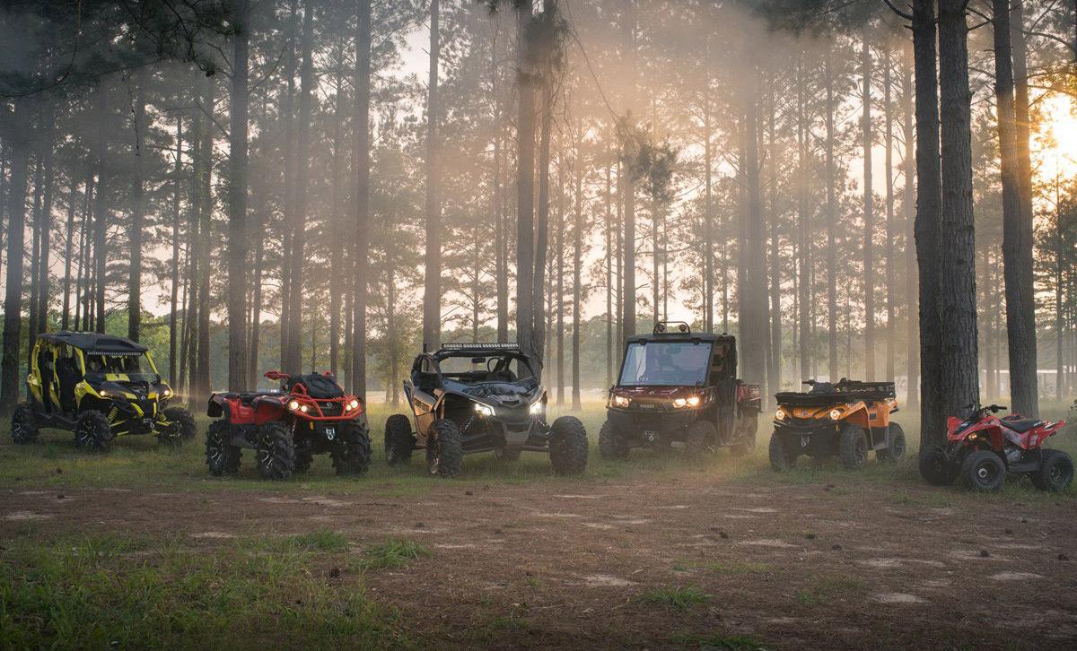 Модельный ряд CAN-AM Off-Road 2018 — повышенная мощность и разнообразие конфигураций!