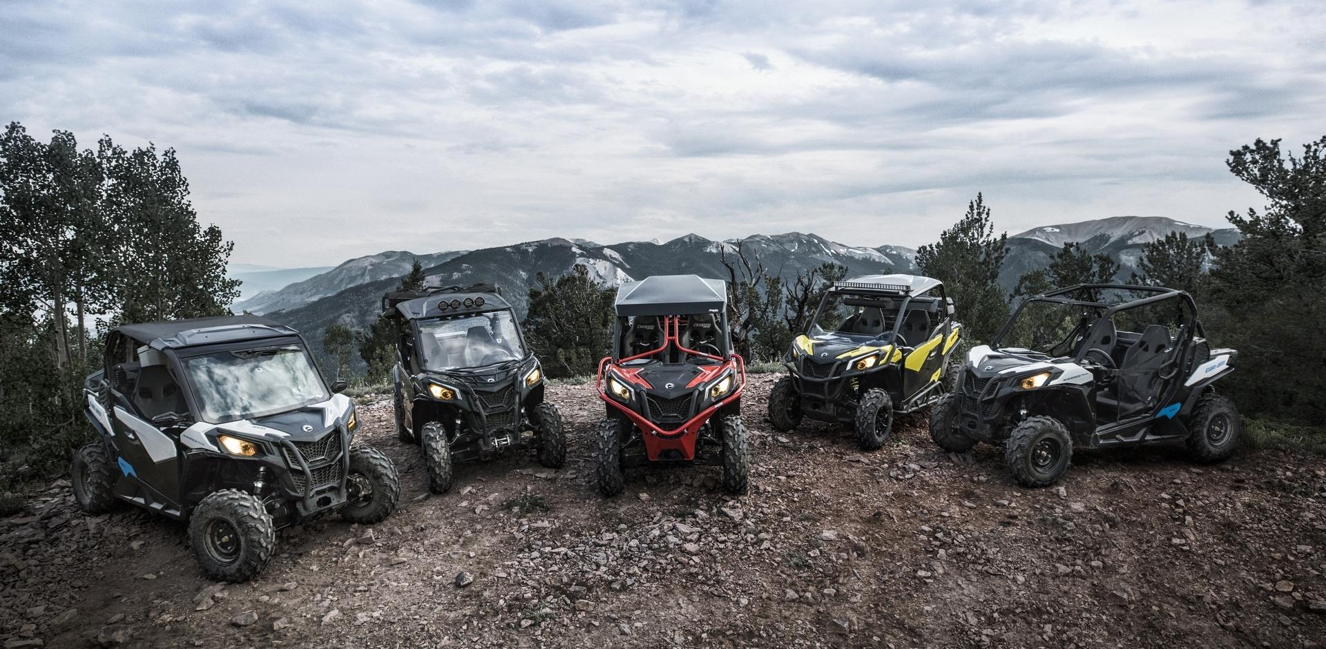 Мотовездеходы Can-Am 2018 модельного года созданы для тех, кто любит тропы, скалы и грязь