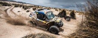 Команда South Racing Can-Am за рулем мотовездеходов Maverick X3 завоевывает победу в гоночной серии ралли дакар 2018
