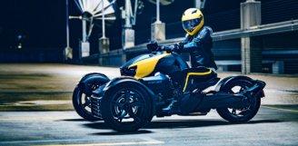 Компания BRP совершает переворот в категории 3-колесных транспортных средств, выпустив принципиально новую модель – Can-Am RYKER
