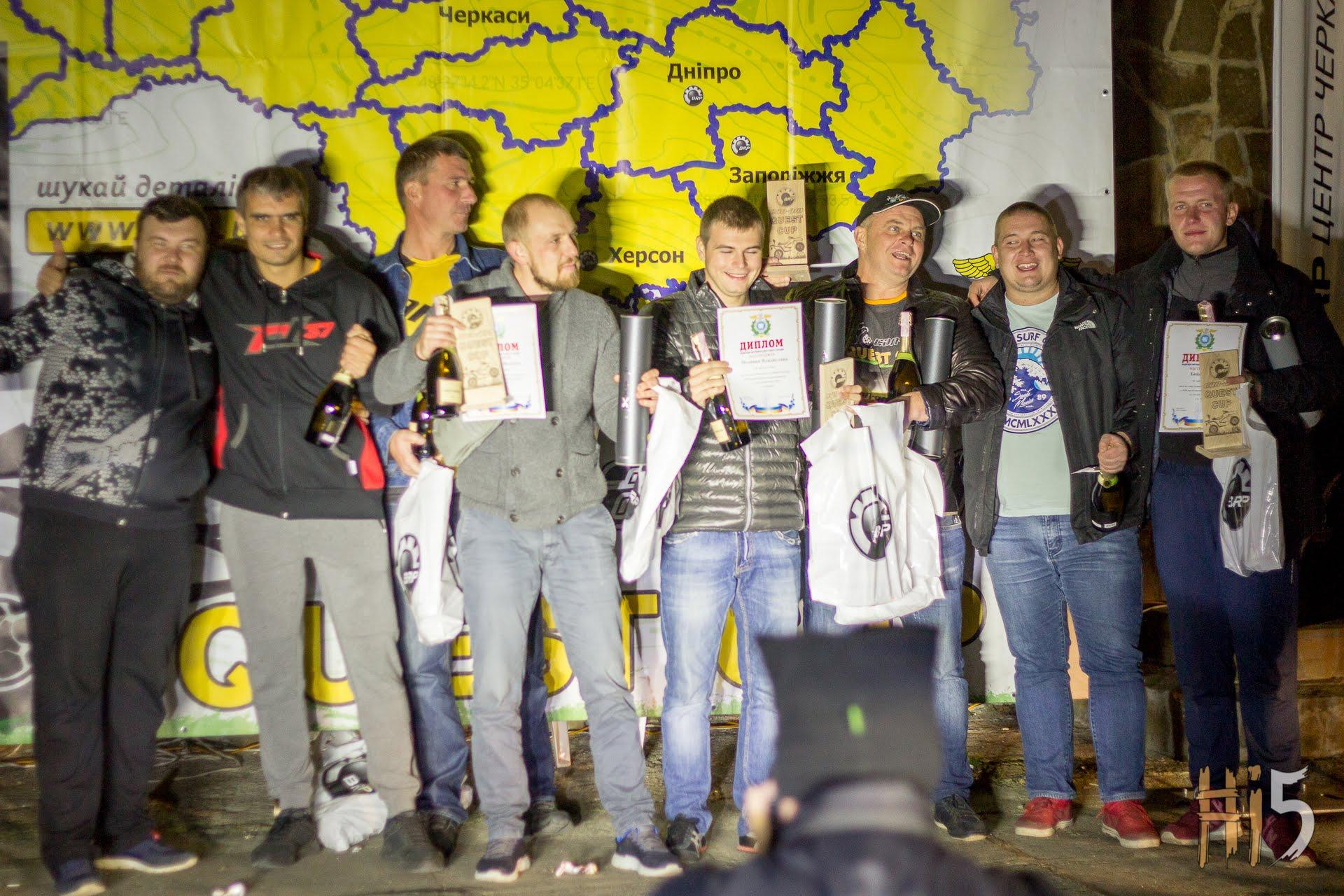 Звіт з 8-го етапу Чемпіонату України з GPS-орієнтування CAN-AM QUEST CUP 2018. Черкаси