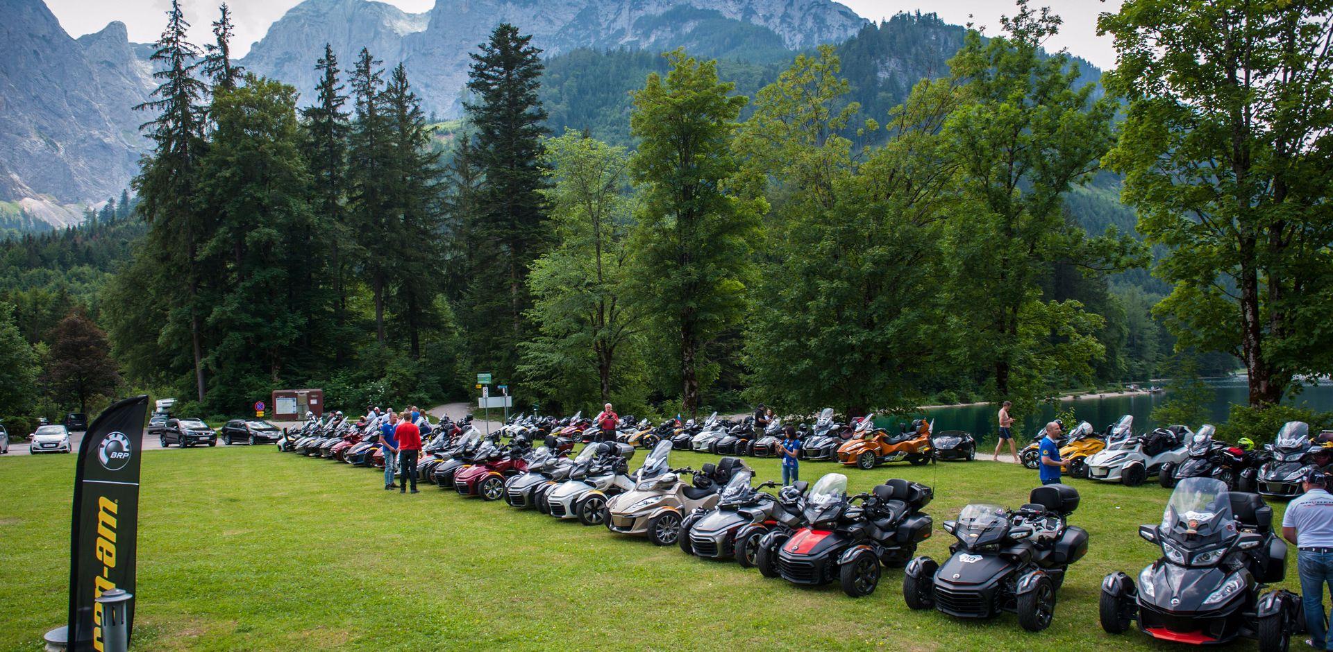 11-13 червня 2020 року – щорічна подорож по Верхній Австрії на родстерах Can-Am